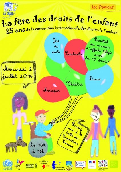 Bien connu Fête des Droits de l'Enfant MU16